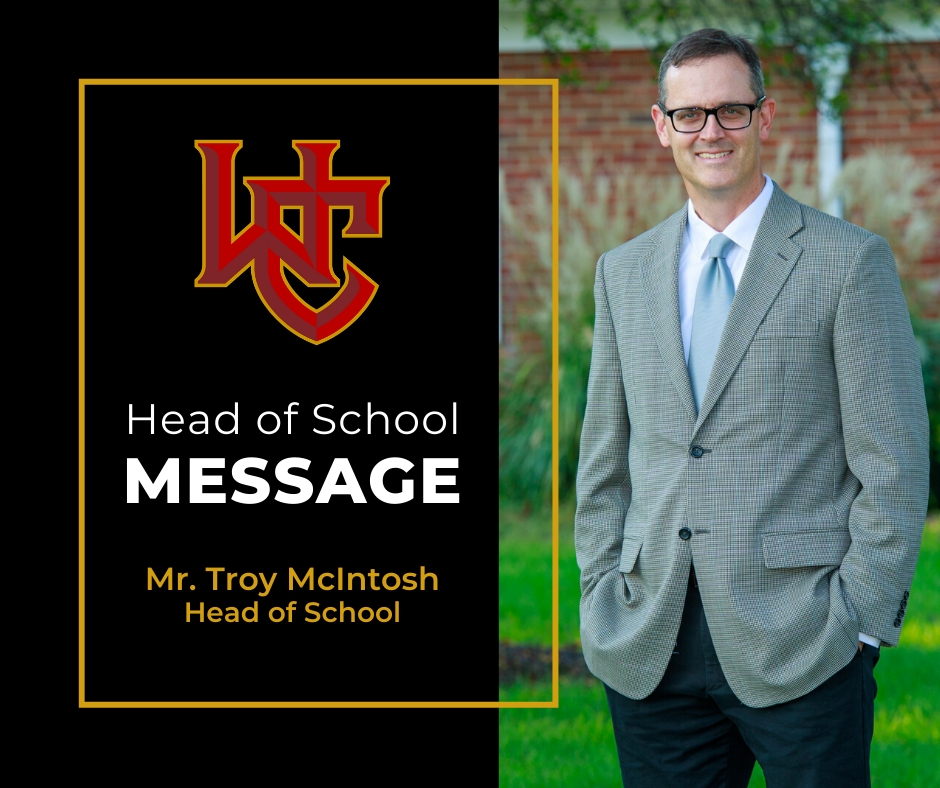 Head of School Message