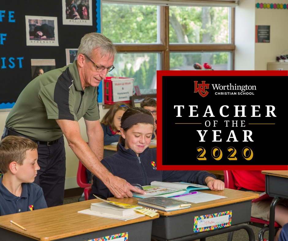 Doug Tanner Teacher of the Year