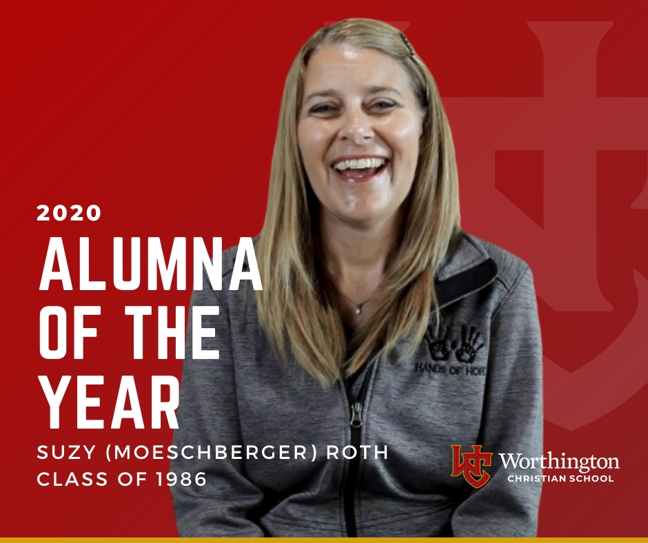 Alumna of the Year-Suzy Roth