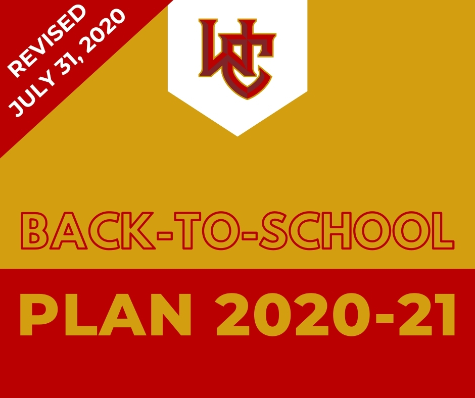 Revised Back-to-School Plan